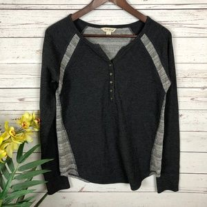 Lucky Brand Slate Gray Waffle Knit Thermal - W9